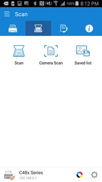 Samsung Mobile Print captura de pantalla 1