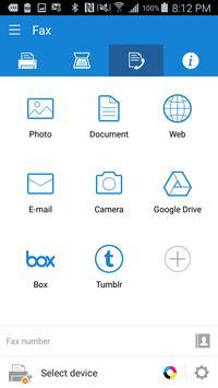 Samsung Mobile Print captura de pantalla 2