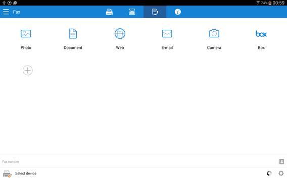 Samsung Mobile Print captura de pantalla 7