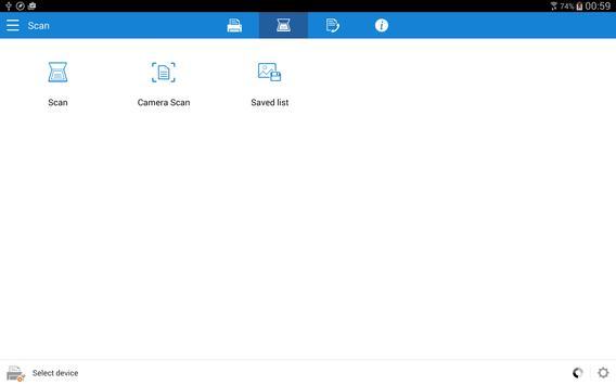 Samsung Mobile Print captura de pantalla 6
