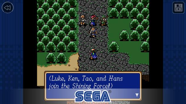 Shining Force Affiche