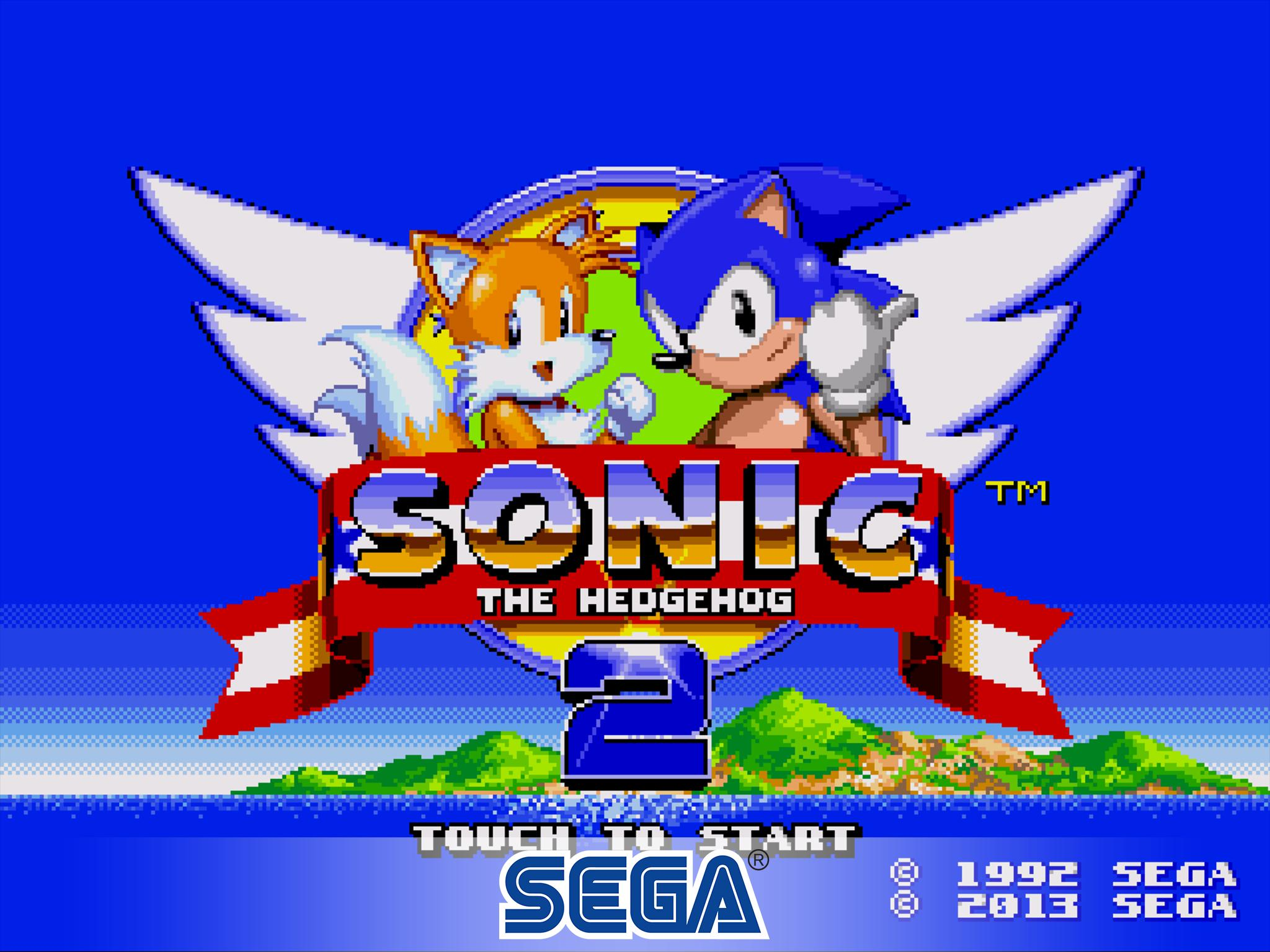Sonic The Hedgehog 2 Classic For Android Apk Download