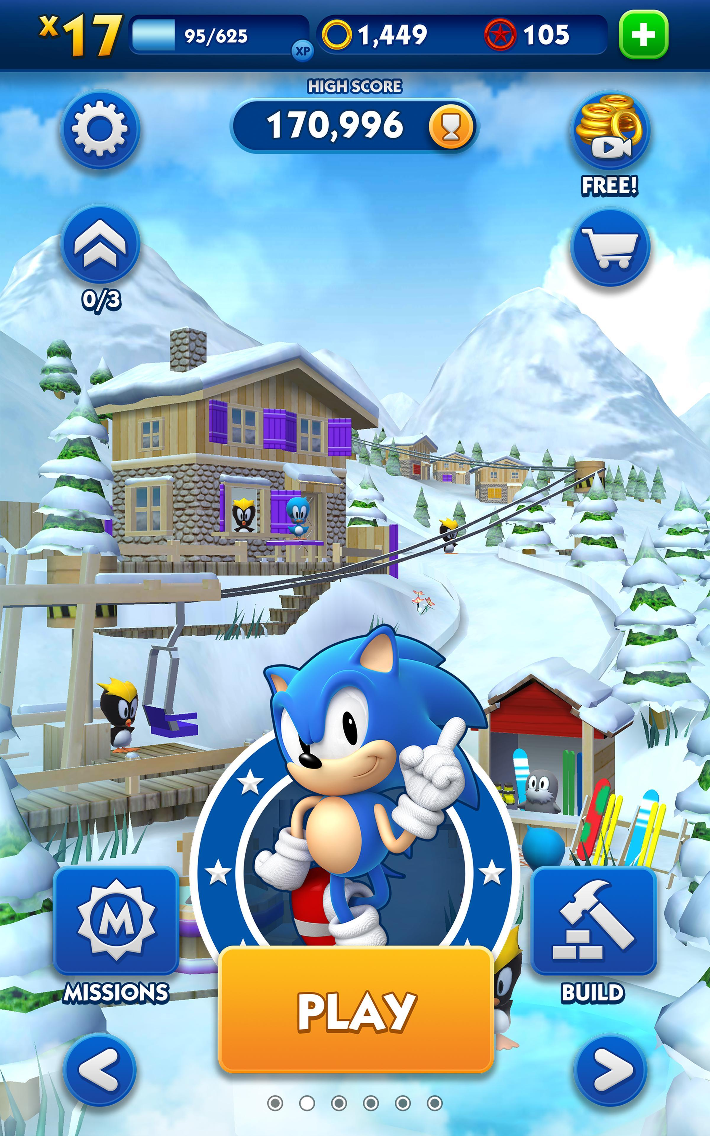 sonic dash 2 download free