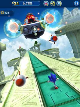 Sonic Dash - Endless Running & Racing Game تصوير الشاشة 18