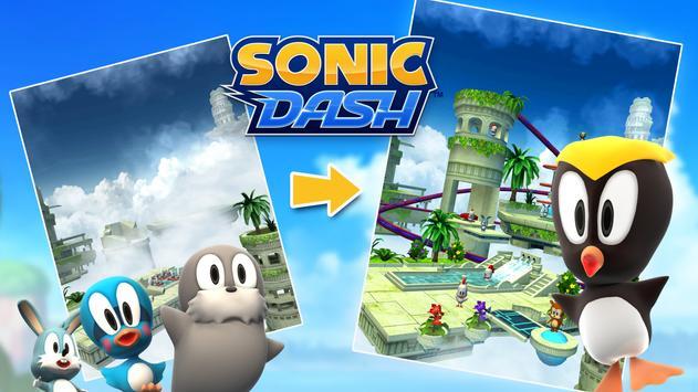 Sonic Dash - Endless Running & Racing Game ảnh chụp màn hình 23