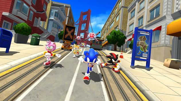 Sonic Forces - Jogos de corrida e batalha imagem de tela 5