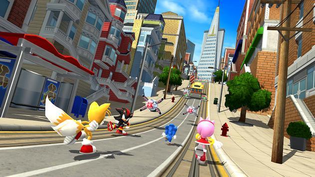 Sonic Forces - Jogos de corrida e batalha imagem de tela 6