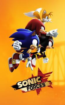 Sonic Forces - Jogos de corrida e batalha imagem de tela 8