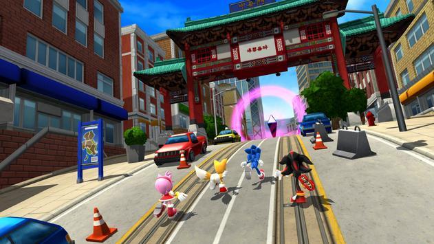 Sonic Forces - Jogos de corrida e batalha imagem de tela 15