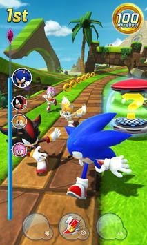 Sonic Forces - Jogos de corrida e batalha imagem de tela 1