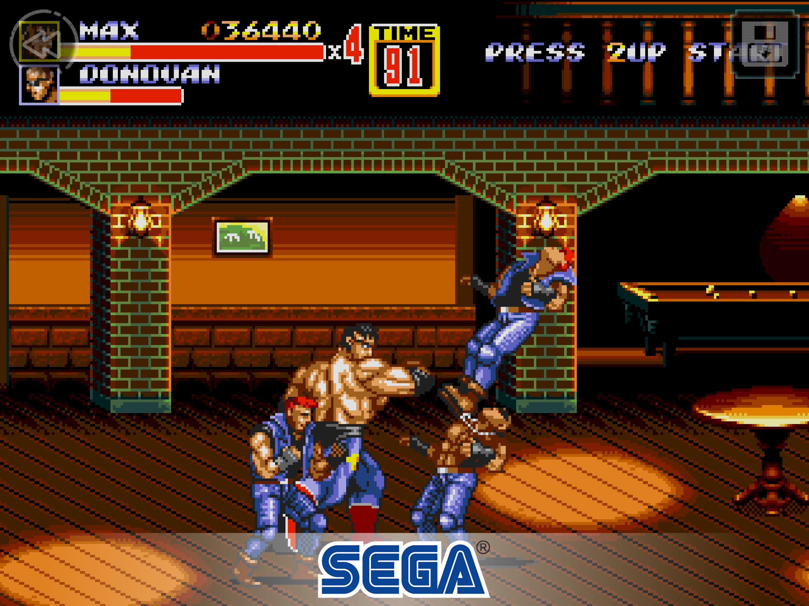 game street of rage 2 Game SEGA Terkeren Di Dunia