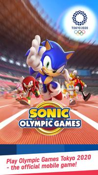SONIC AT THE OLYMPIC GAMES – TOKYO2020 poster