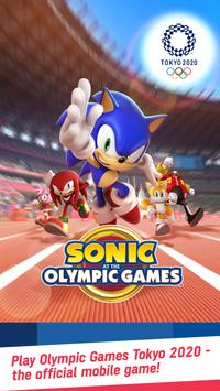Sonic at the Olympic Games – Tokyo 2020™ पोस्टर