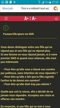 L'art de Draguer par SMS screenshot 3