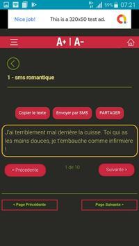 L'art de Draguer par SMS screenshot 4