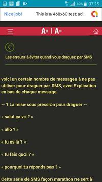 L'art de Draguer par SMS screenshot 7