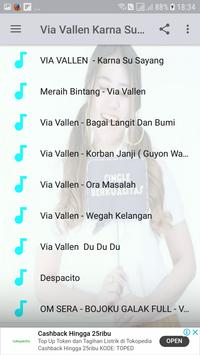 download lagu via vallen karna su sayang sera