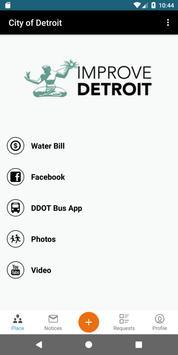 Poster Improve Detroit