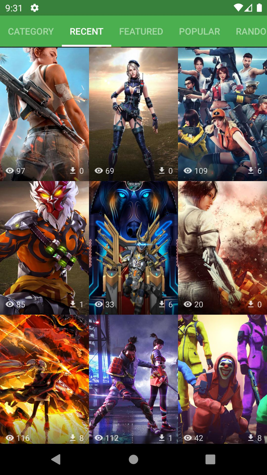 Wallpaper For Garena Free Fire S Fans Für Android Apk