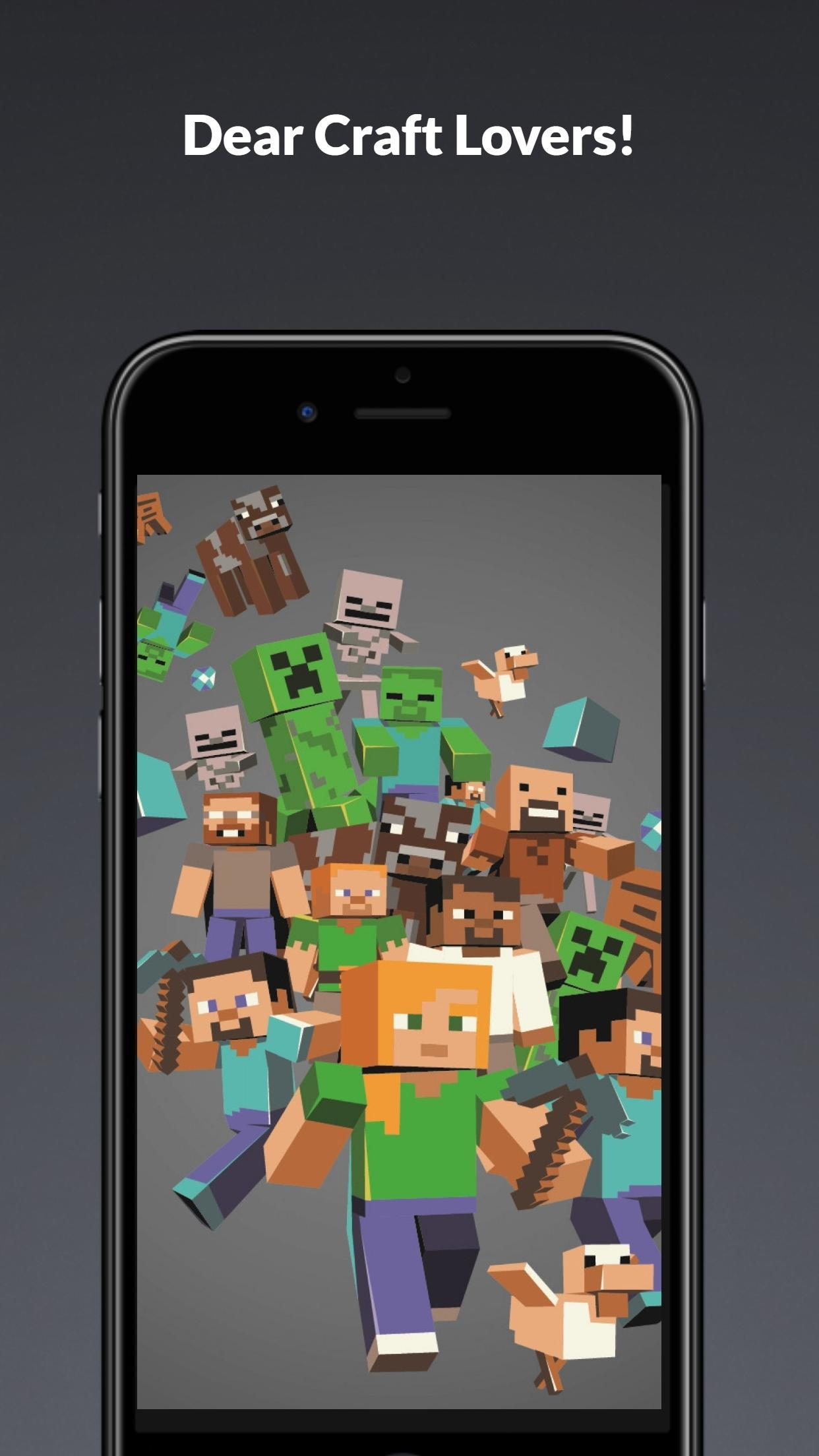 For Crafter Minecraft Wallpaper For Android Apk Download