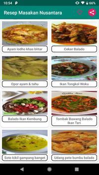 1001 Resep Masakan Nusantara screenshot 1