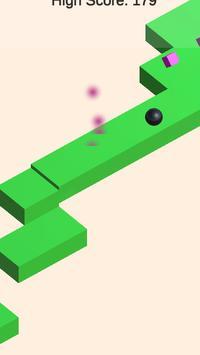 Ball 3D Geometry Runner adventure poster
