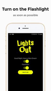 Lights Out - Always on Display and Flashlight screenshot 3