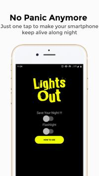 Lights Out - Always on Display and Flashlight screenshot 1