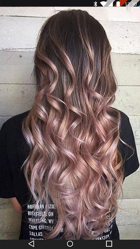 موضة ألوان صبغات الشعر 0