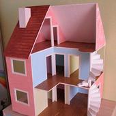 Дом для кукол своими руками - кукольный домик icon