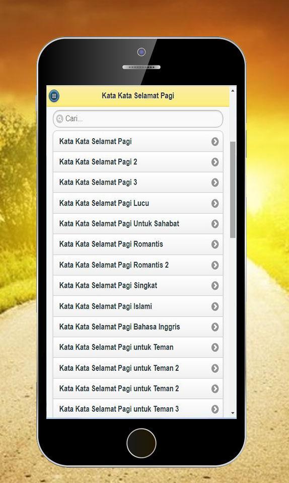 Kata Kata Selamat Pagi For Android Apk Download