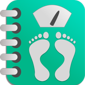 Gewichtsdagboek-icoon
