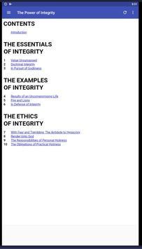 The Power of Integrity screenshot 8