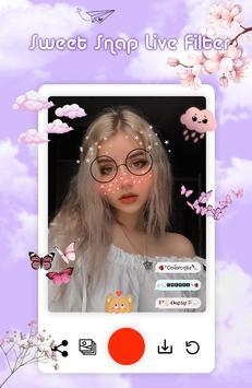 Sweet Snap Live Filter screenshot 12