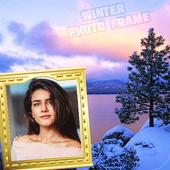 Winter Photo Frame Selfie Editor icon