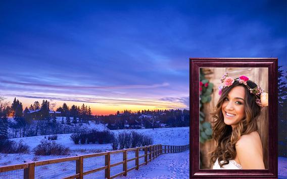 Winter Photo Frame Selfie Editor screenshot 10