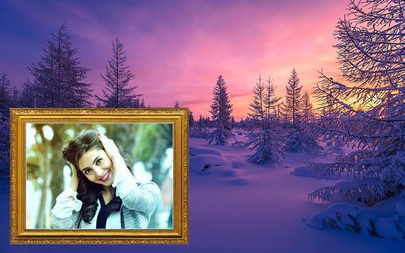 Winter Photo Frame Selfie Editor screenshot 11