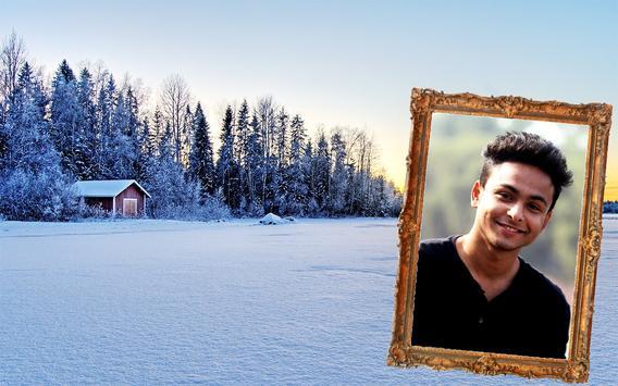 Winter Photo Frame Selfie Editor screenshot 12