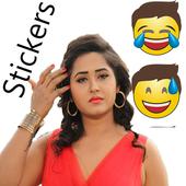 Kajal Raghwani Stickers for WhatsApp icon