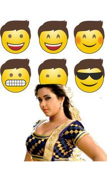 Kajal Raghwani Stickers for WhatsApp screenshot 1