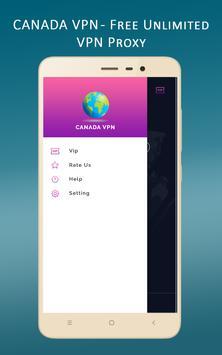 Canada VPN - Free Unlimited VPN Proxy screenshot 4