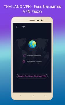 Thailand VPN - Free Unlimited VPN Proxy screenshot 2