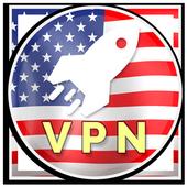 USA VPN - Free Unlimited VPN Proxy icon