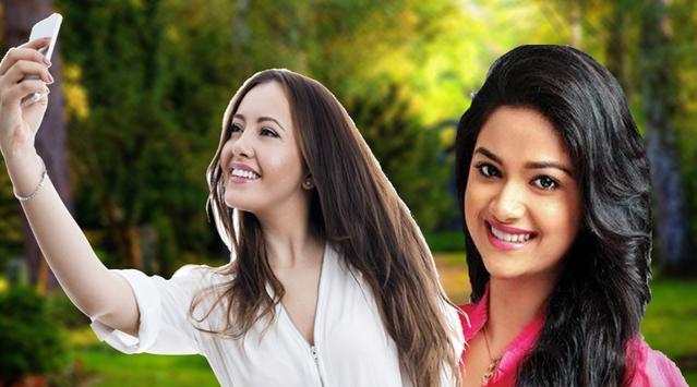 Selfie Photos With Telugu Actress Image Editors screenshot 11