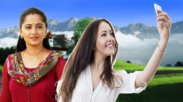 Selfie Photos With Telugu Actress Image Editors screenshot 1
