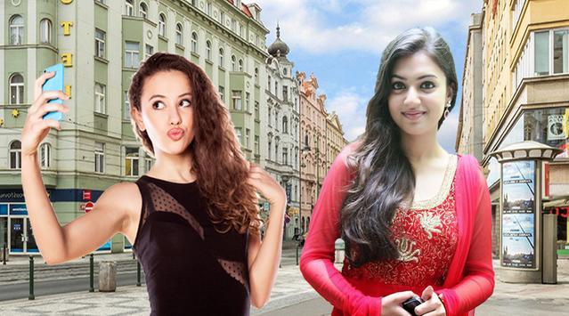 Selfie Photos With Telugu Actress Image Editors screenshot 2