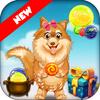Doggy Bubble - नि: शुल्क बुलबुला शूटर खेल आइकन