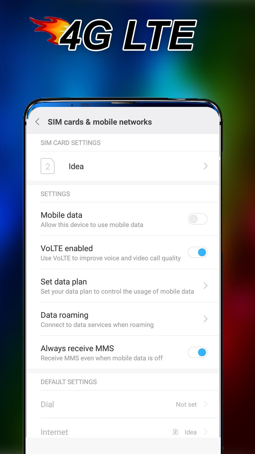 Force LTE Only - Lock LTE for Android - APK Download
