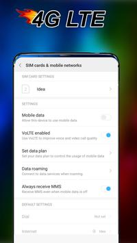 Force LTE Only -  Lock LTE screenshot 5