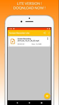 Screen Recorder Lite screenshot 4